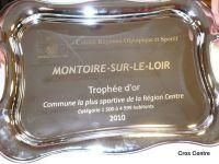 Montoire-sur-le-Loir, trophée d'or